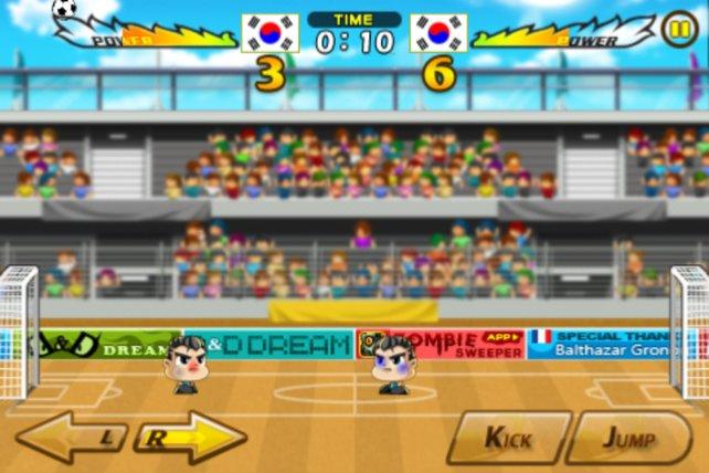 Die Spieler tragen mit Fortgang des Spieles Blessuren davon.
