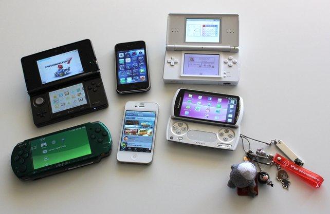 Qual der Wahl - viele Handhelds buhlen um eure Gunst.