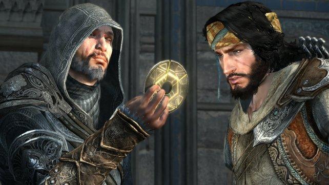Ezio ist hier nicht mehr der Jüngste ...