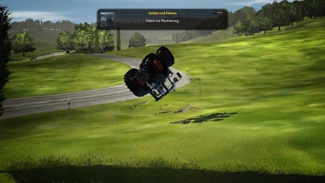 Simulatoren rund um den Bauernhof sind beliebt. Macht euch gefasst auf Traktor-Akrobatik!