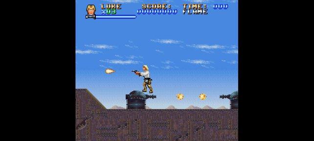 Die Star-Wars-Spiele auf NES und SNES setzen auf Hüpfereien und 2D-Action.