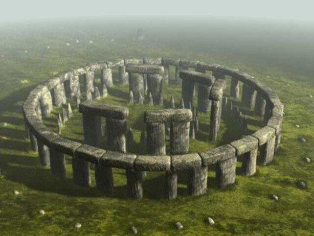 In Stonehenge