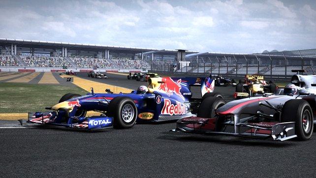 Gewohnter Anblick: McLaren und Red Bull an der Spitze.