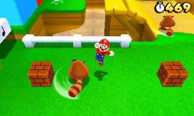 Aus dieser Perspektive seht ihr Mario in seinem neuen Spiel - aber es gibt Ausnahmen.
