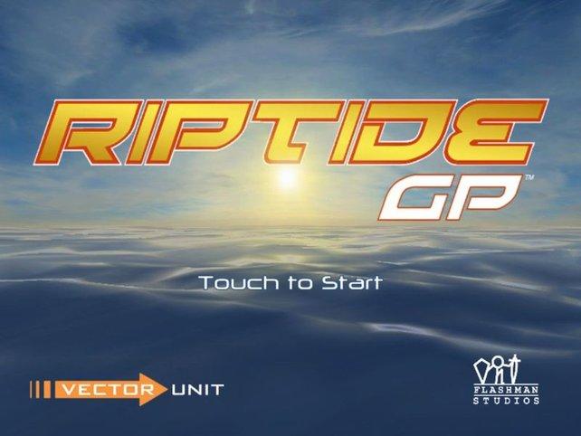 Macht euch nass: Riptide GP.