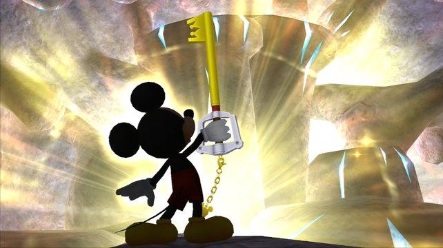 Square Enix und Disney schicken König Micky in den Kampf gegen die Herzlosen.