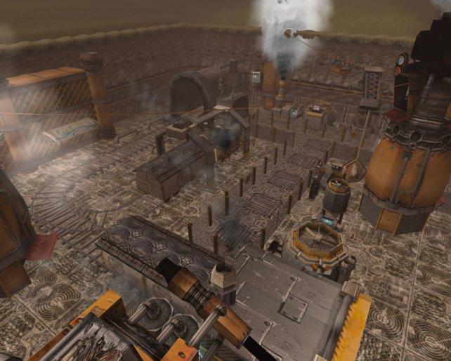 Überall dampft und brodelt es in der Welt von Neosteam - Steampunk halt.