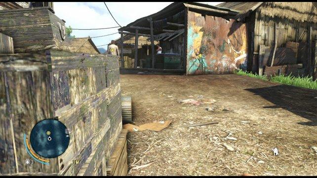 Die Schleichmission in Far Cry 3 sind nicht sonderlich spannend.
