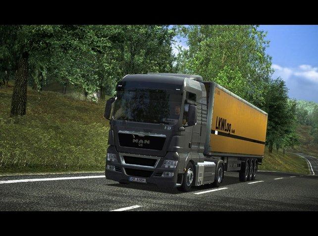 Der German Truck Simulator gilt noch zu den besten Spielen im Genre - und belegt den besten, letzten Platz.