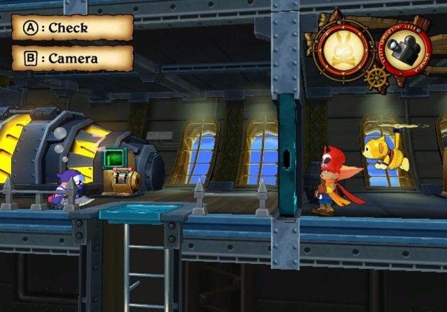 Falsche Aktionen führen schnell zum Game Over, etwa wenn der Feind Zack bemerkt.