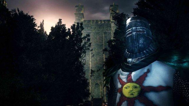 Dark Souls präsentiert sich in einer Mittelalter-Optik.