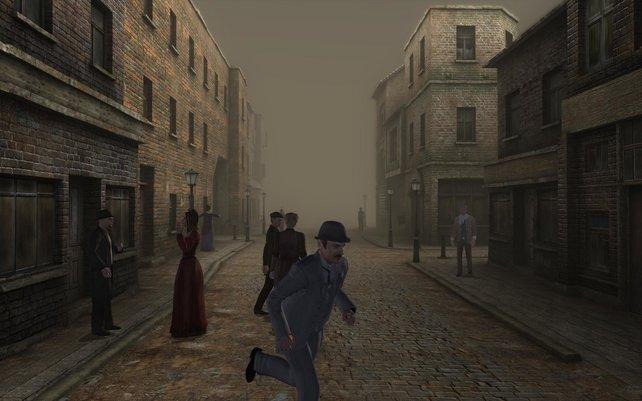 Die Straßen Londons laden nicht gerade zum Flanieren ein.