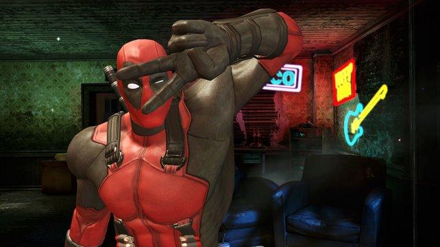 Deadpool ist schon 'ne coole Socke.
