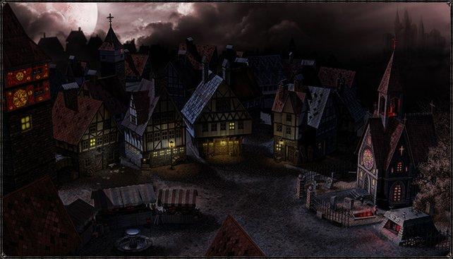 In der finsteren Stadt gibt's immer Arbeit für Werwölfe und Vampire.