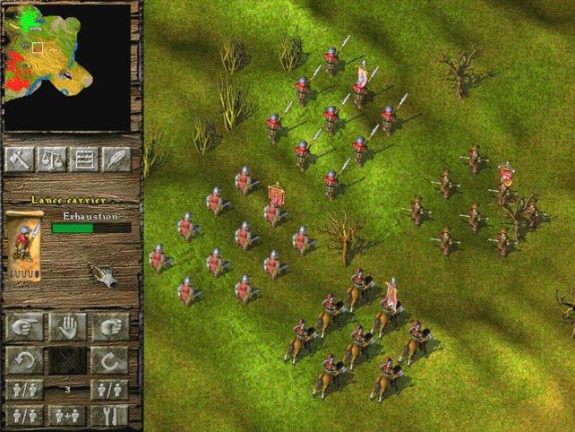 Unsere Armeen auf Vormarsch