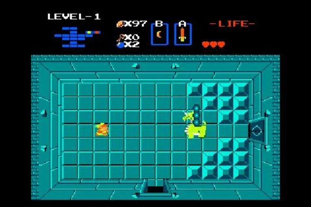 Kein NES-Spiel ist 1986 so komplex wie The Legend of Zelda.