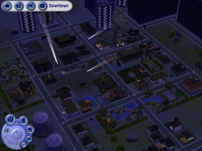 Downtown ist nachts besonders beeindruckend