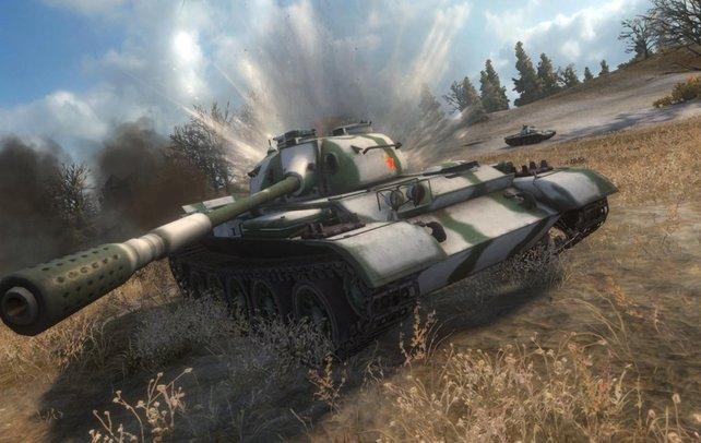 """World of Tanks gehört zu den aktuell erfolgreichsten """"Free 2 play""""-Spielen."""