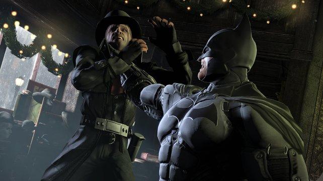 Batman steht am Anfang seiner Karriere und geht noch sehr brutal vor.