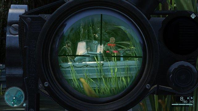 Die natürliche Sichtweise eines Scharfschützen.