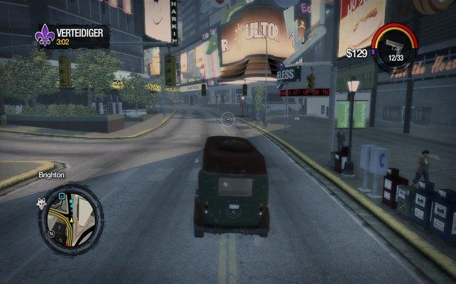 Das Fahrverhalten der Wagen ist sehr direkt.