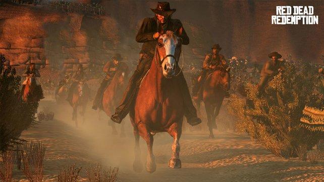 Die Steuerung und Animationen der Pferde sind groß-art-ig!