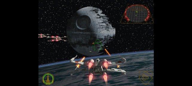 Rogue Squadron ist 2001 ein Startspiel für Gamecube und sorgt für offene Münder.