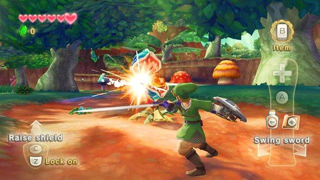 Wer eine Wii besitzt, kommt um Skyward Sword nicht herum.