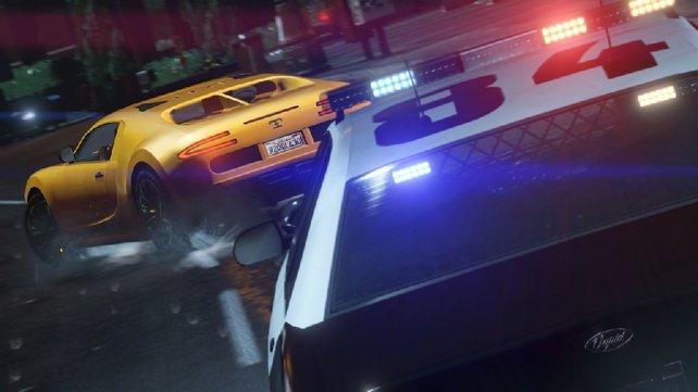 Autos könnt ihr in GTA 5 zum geeigneten Fluchtfahrzeug aufmotzen.