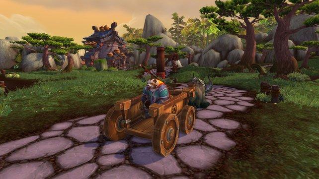 Die Grafik mag alt sein, dennoch zaubert World of Warcraft mit seiner Engine ein stimmiges Gesamtbild.