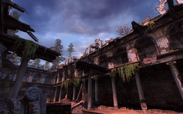 Märchenhaft anmutende Ruinen in der Todeszone