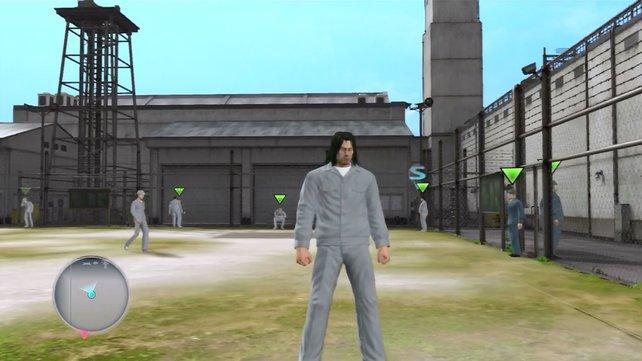 Schwerverbrecher Saejima muss sich seinen Weg aus dem Knast bahnen.