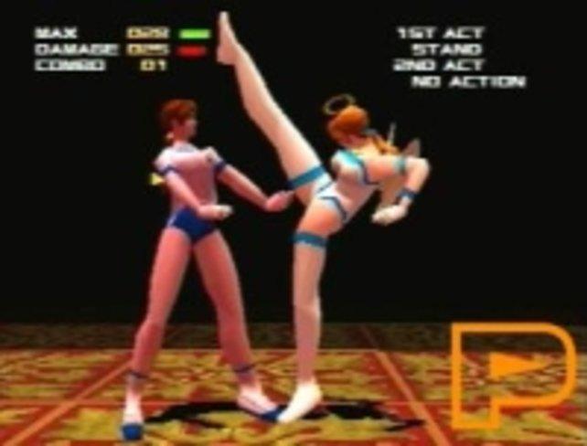 So sah das erste Dead or Alive in der PlayStation-Version von 1998 aus.
