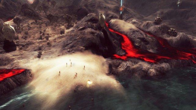 Sehr beeindruckend: Die Vulkanlandschaft.