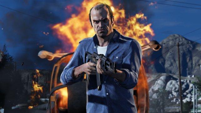 Trevor Phillips, einer der drei Hauptcharaktere.