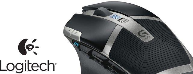 Logitech G602: Spielermaus läuft bis zu 1.400 Stunden mit zwei AA-Batterien