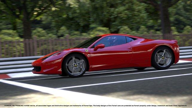 Wir kriegen gar nicht genug von den Ferraris!