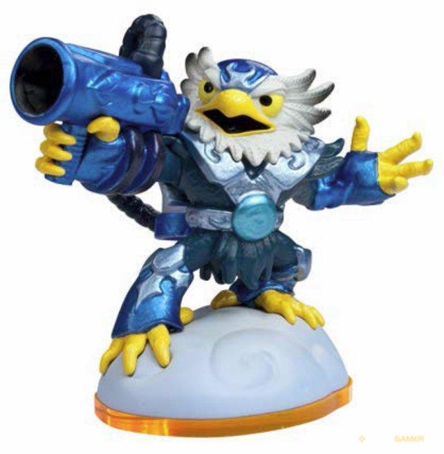Selbst mit einer Bazooka kommt ihr im Duell nur gerade so gegen die Giganten an.