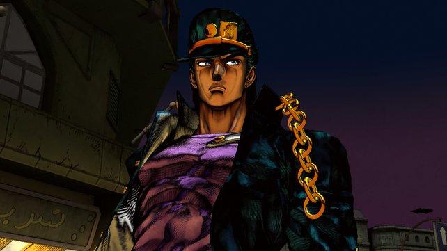 Jotaro Kujo, der Jojo des dritten Erzählbogens, mag goldene Ketten.