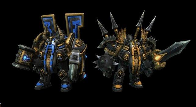 Der aus Warcraft 3 bekannte Bergkönig wird auch in Blizzard DotA verfügbar sein.