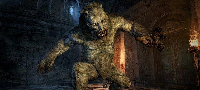 Unter Tage erwarten euch grausige Monster.