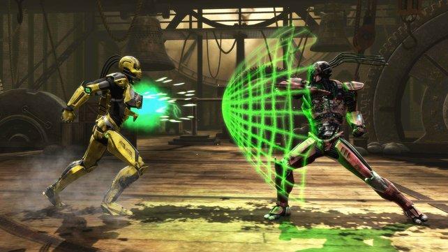 Cyrax und seine futuristischen Fähigkeiten wurden auf der gamescom erstmals präsentiert.