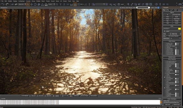 Die CryEngine macht detailreiche Umgebungen und Grafikeffekte lebendig.