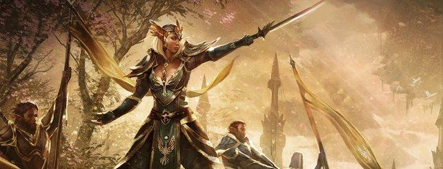 The Elder Scrolls Online erzählt den Kampf um den Rubinthron.
