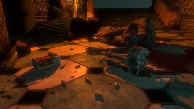 Das Aufsammeln von Gegenständen ist integraler Bestandteil des Gameplays.