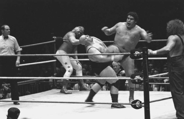 André the Giant stand bereits im Jahr 1964 im Wrestling-Ring.