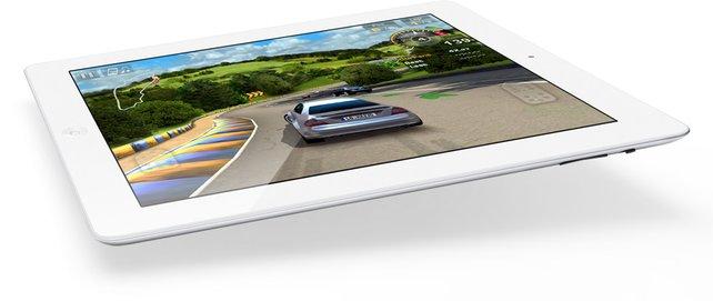 Das neue iPad 2 wird von Apple gezielt als Spiele-Gerät beworben.