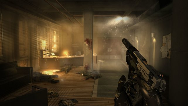 Mit einer stimmigen Beleuchtung sorgt das Spiel für Atmosphäre.