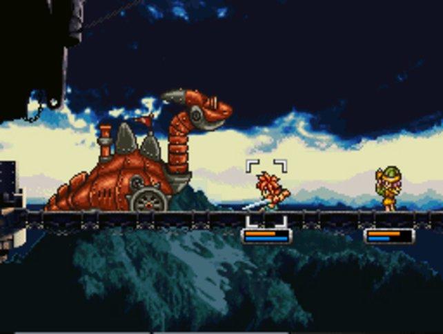 Was jedes gute RPG braucht: Dramatische Brückenkämpfe mit schönem Panorama.