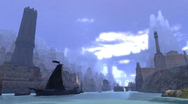"""Selbst bei """"Age of Conan"""" gibt es schöne Landschaften"""